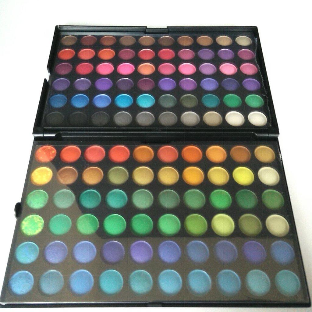Фото теней для глаз палитра 120 цветов