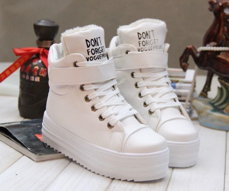 обувь зимняя сникерсы фото