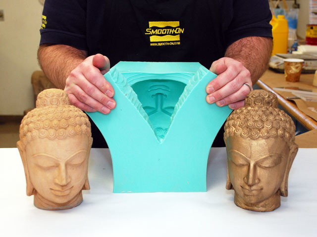 Пластиковая форма для гипса своими руками 50