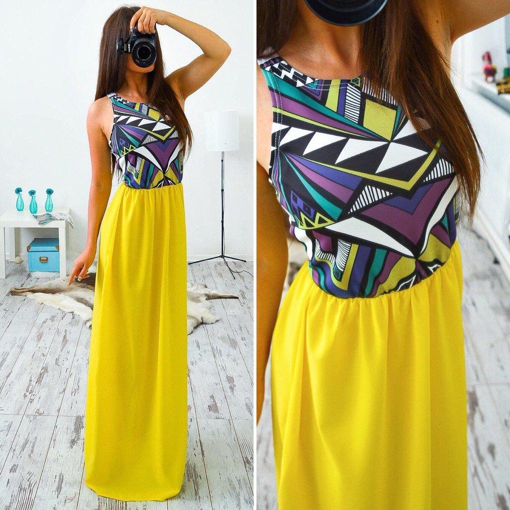 Фото платья летние макси