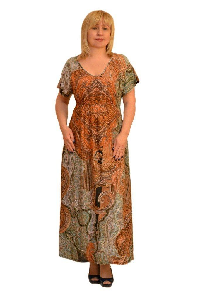Платье из штапеля модели