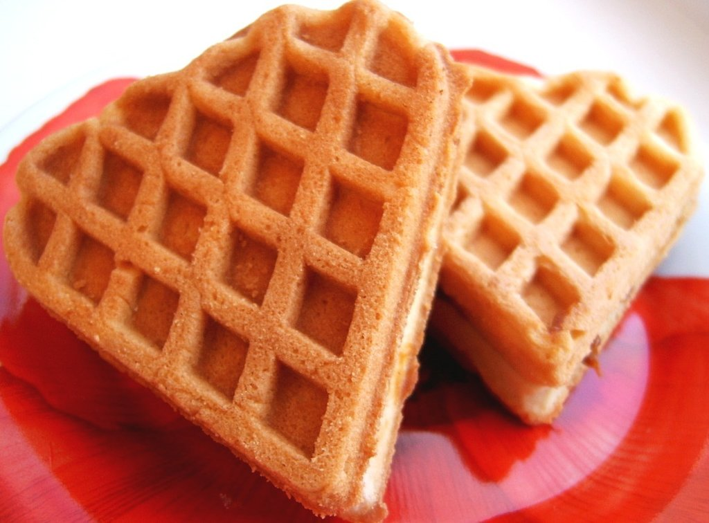 Печенье для вафельницы пошагово с