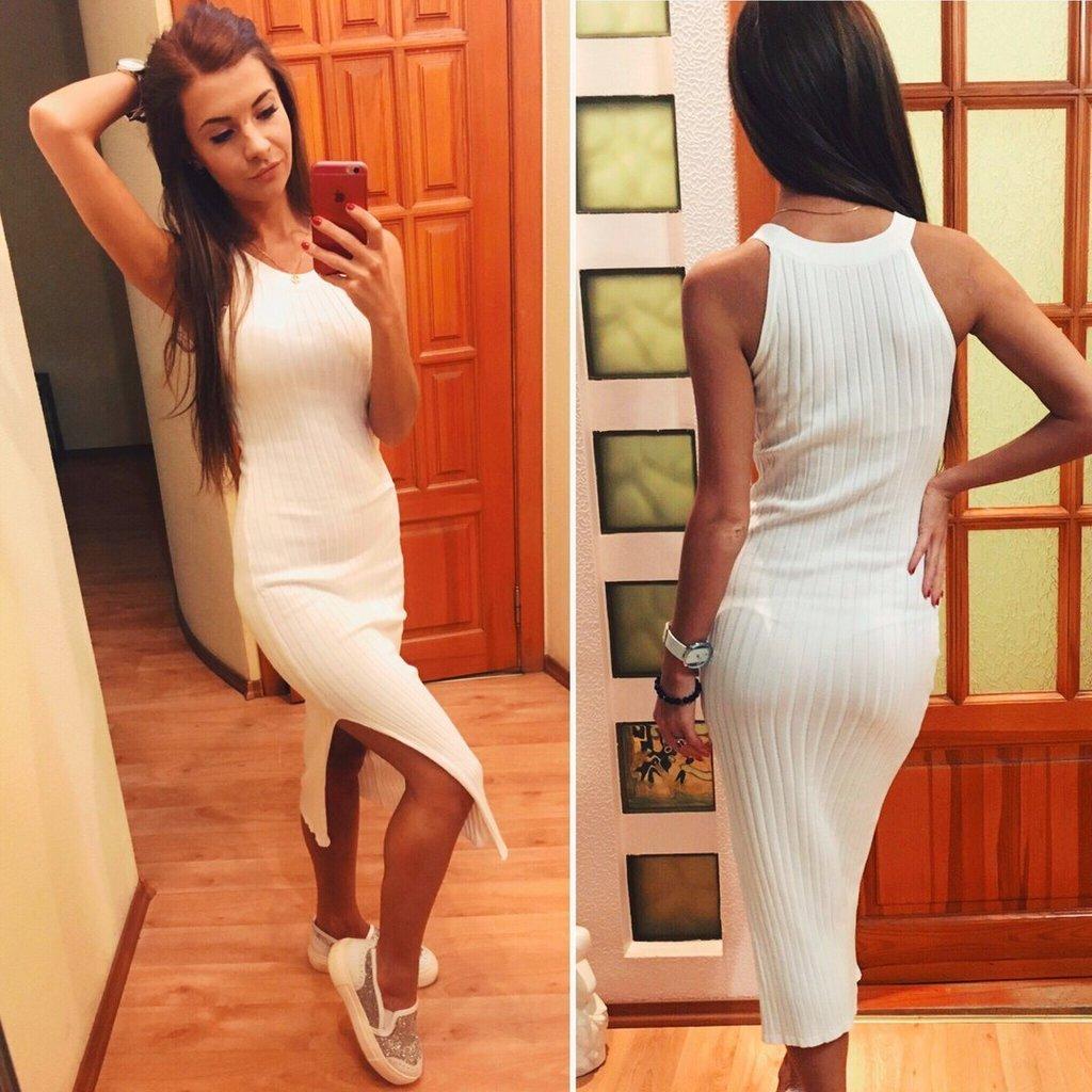 Платье Лапша Ниже Колена Купить В Интернет