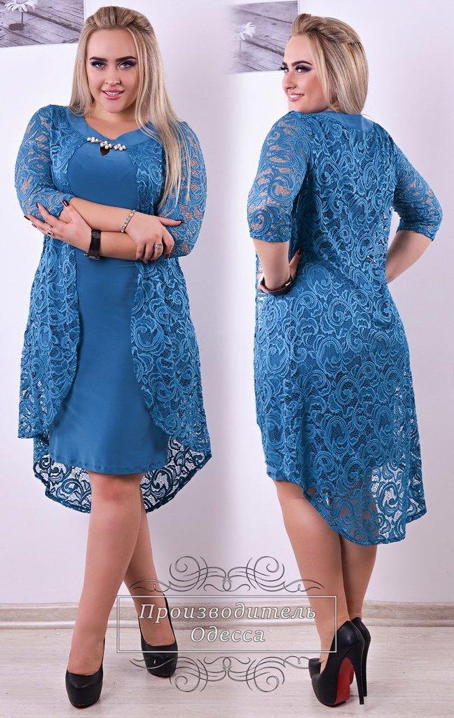 Гипюровая накидка на платье