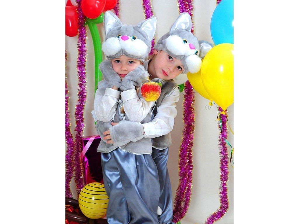 Продано: Карнавальный костюм Серая кошка 3-7лет - карнавальные костюмы в Днепропетровске (Днепре), объявление 11448400 Клубок (р