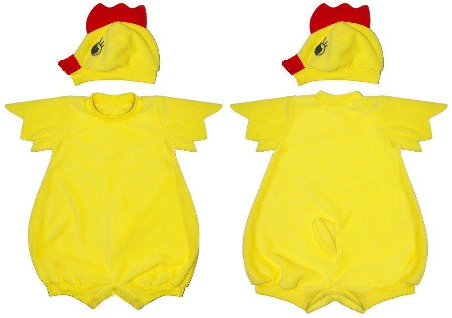 Костюм цыпленка для мальчика мастер класс