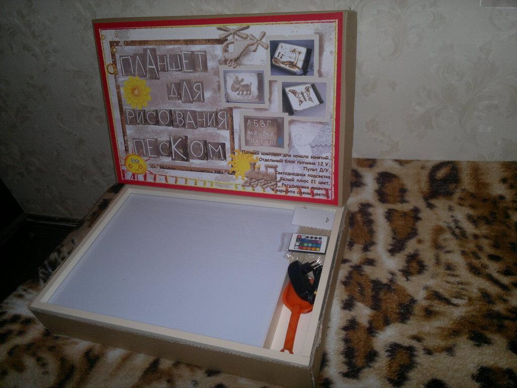 Как сделать планшеты для рисования песком