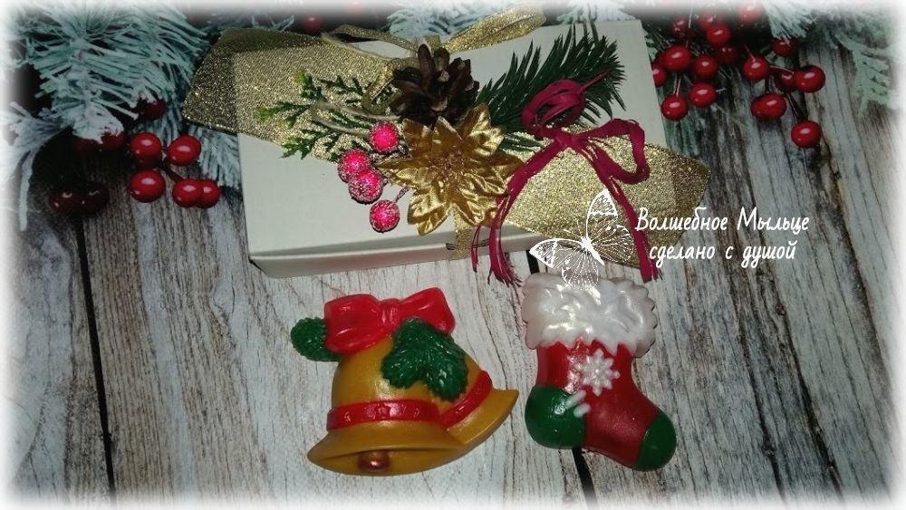 Мыло ручной работы в подарок к новому году