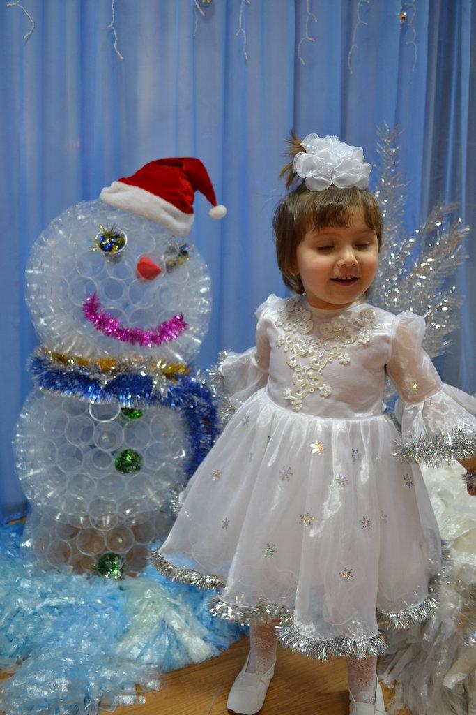 Красивый наряд снежинки своими руками