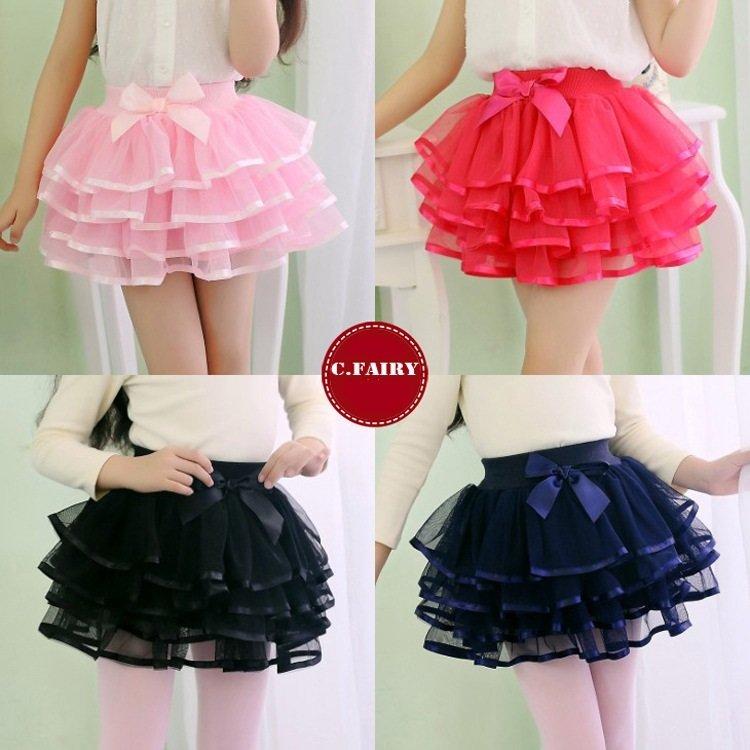 Модная юбка для девочек своими руками