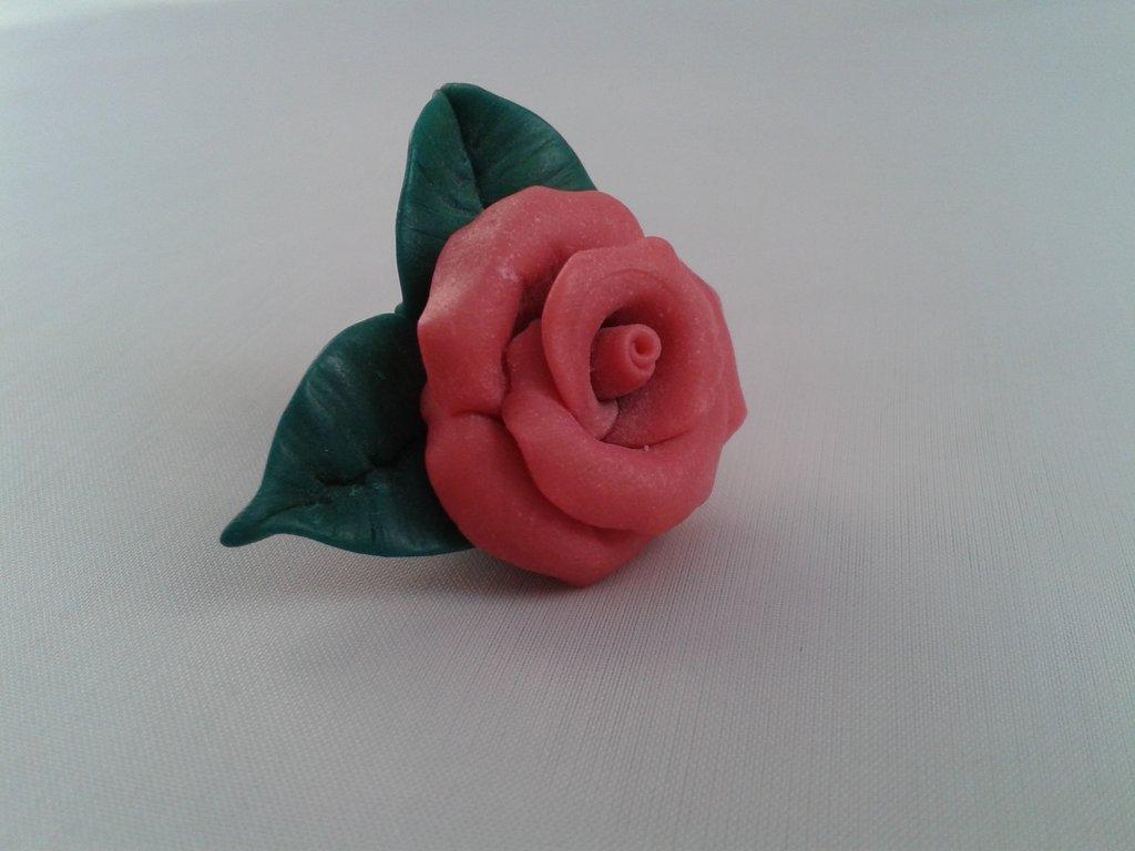 Розы из глины полимерной