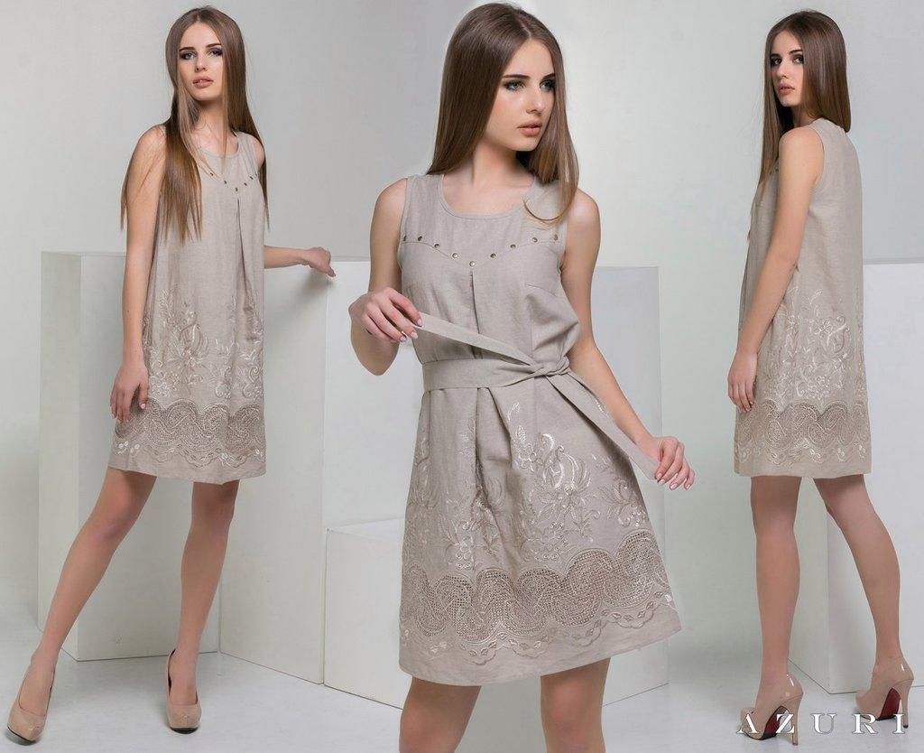 Летнее платье трапеция 2016 новинки