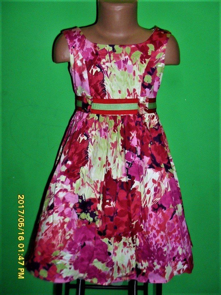 Модное платье на девочку 8 лет