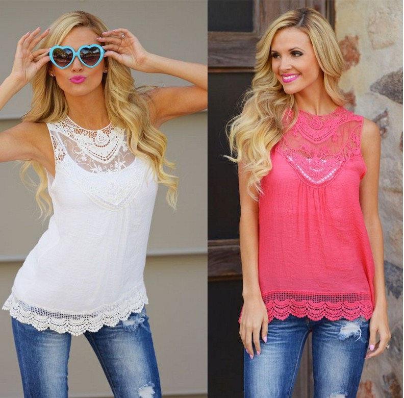 Модные блузки и топы