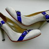 Замшевые туфли италия 37р.