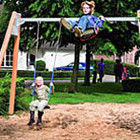 Детские песочницы, качели, карусели