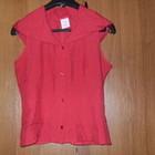 Яркая летняя блузка с капюшоном, Англия