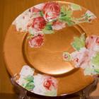 Тарелка большая диаметр 30 см и блюдце