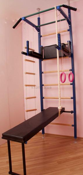 Спортивный уголок комнатный на 7 элементов .