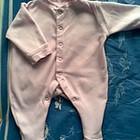 Продам розовый человечек для новорожденной Mothercare