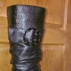 Новые зимние кожаные сапоги 38 размера