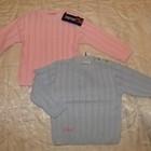 Новые детские кофты Dadak Польша , розовая, голубая