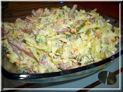 Салат с китайской капустой и сухариками 2кг