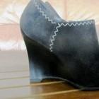 Замшевые ботинки,ботильоны Касадеи 36-37 рр.
