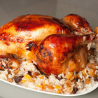 Курица фаршированная рисом с овощами и черносливом 1шт