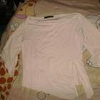 футболка стрейч с вырезом лодочка