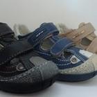 Открытые туфли для мальчишек. Кожа. р. 25-30