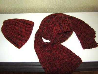 Шапка и шарф. Польша.