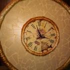 Часы настенные ручная работа