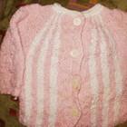 кофточка вязаная на ребенка 3-4 лет