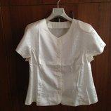 Атласная блуза, р.50-52