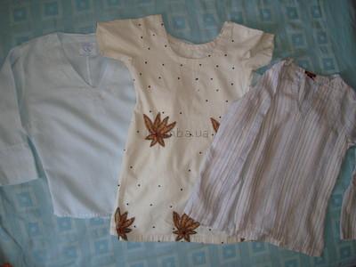 Льняная блуза, туника, блузка, рубашка
