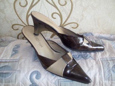 Туфли-шлепанцы класскика кожа-лак 36-37р--отдам за 80 грн