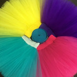 Пышная юбка пачка из фатина на танцы праздники Большое разнообразие цветов