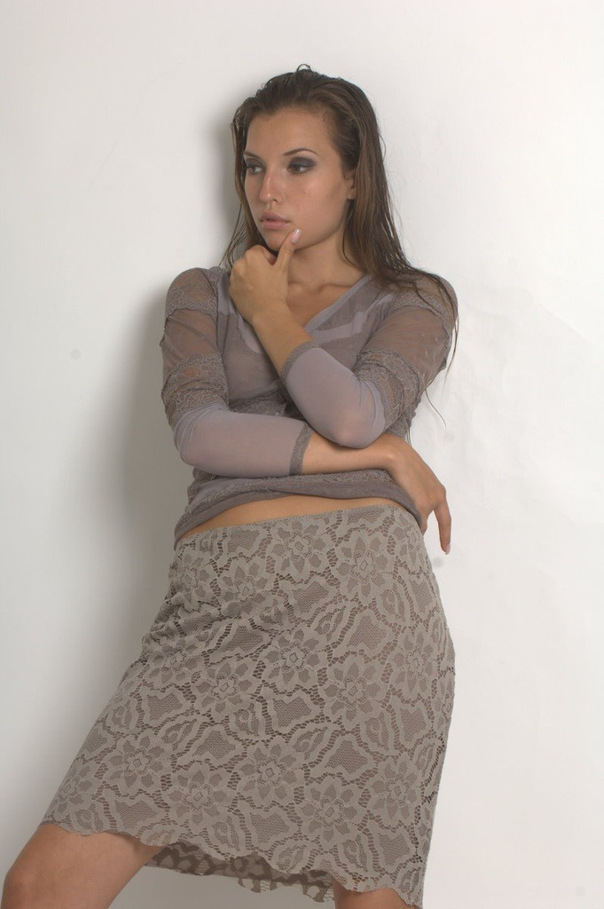 Платье белое кружевное от arefeva