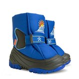 Модель санрайз синие Детские зимние сапоги Демар Demar