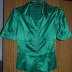 Шикарная атласная блуза