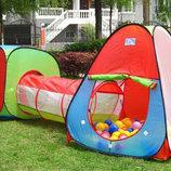 Детская игровой центр 2958 -2 палатки тоннель 3 в 1