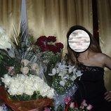 Платье фирменное короткое вечернее р.S-М качественное новогоднее праздничное болеро
