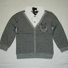 Джемпер рубашка обманка для мальчиков 110-152см.