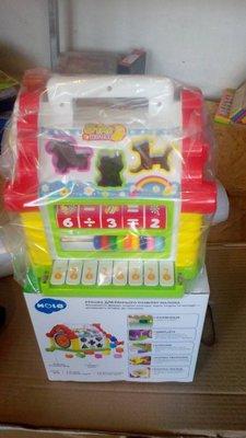 Музыкальная игрушка-сортер Теремок 9196