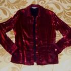Блузка С огненным отливом -----и черная Шифон----р.46-48---снизила цену