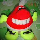 Мягкая игрушка-зубастик в хорошем состоянии