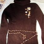 Теплый свитер, р.36-38