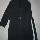 Пальто женское теплое с поясом.