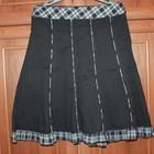 очень красивая котоновая юбка на осень и зиму 48размер